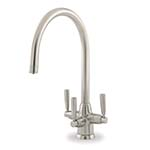 Perrin & Rowe Metis Triple Lever Filter Tap with C Spout