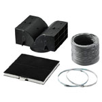 Bosch Recirculating Kit for Chimney Hoods
