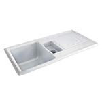 Carron Phoenix Sienna 150 1.5 Bowl CERAMIC Sink - SINK ONLY
