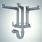 Franke 3 Bowl Plumbing Kit