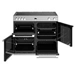 Stoves Sterling 100cm Induction Range Cooker