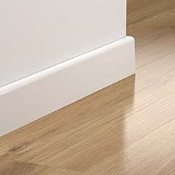 Pergo 77mm Wallbase, Straight for Expression Wide