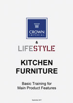 graphic of Crown Kitchen Product Manual front cover
